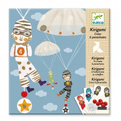 Kirigami : Equipe de garçons
