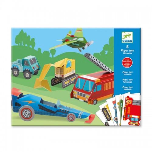 Paper Toys: Les engins
