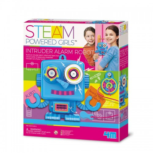 SteamPowered : Robot d'alarme anti-intrusion