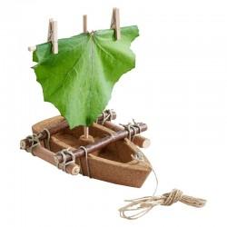 Terra Kids bateau en liège en kit