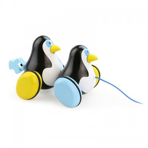Hans & Knut les 2 pingouins à traîner