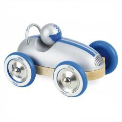 Roadster vintage gris métalisé