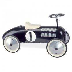 Porteur voiture vintage noire