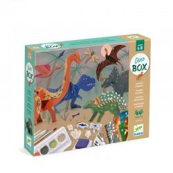 Coffret mult-activités : Le monde des dinosaures