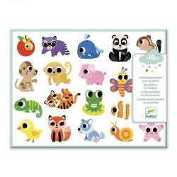 Stickers : Bébés animaux