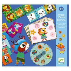 Bingo Mémo Domino Les P'tits Copains