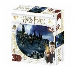 Puzzle Harry Potter 3D Image Poudlard Nuit