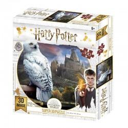 Puzzle Harry Potter 3D Image Hedwig