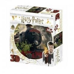 Puzzle Harry Potter 3D Image Poudlard Express