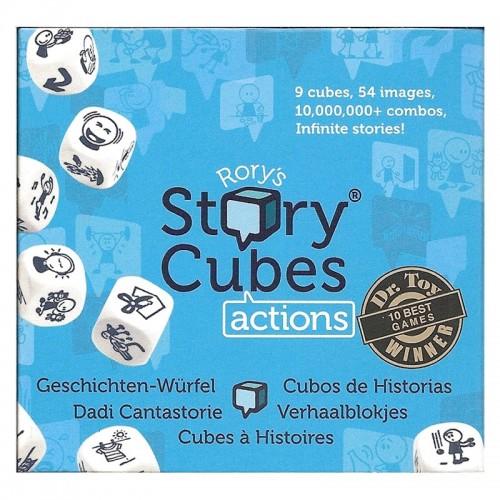 Story Cubes Actions (bleu)