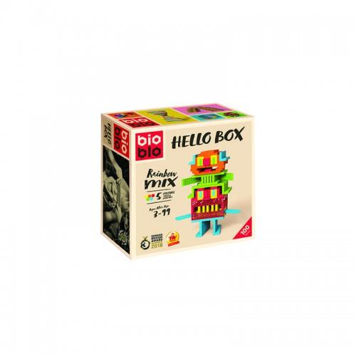 Bioblo Hello Box 100 briques