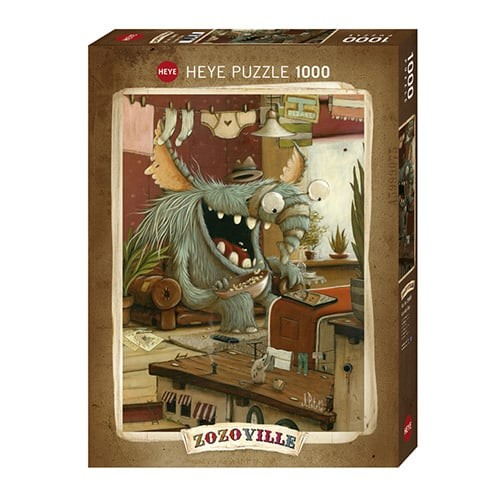 Puzzle Zozoville : Laundry Day