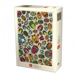 Puzzle D-toys pattern Owls 1000p