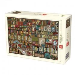 Puzzle D-toys pattern Bookshelf 1000p