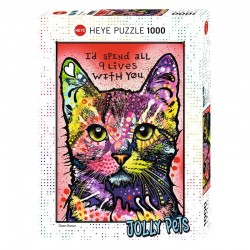 Puzzle Jolly Pets - Cats 9 Lives