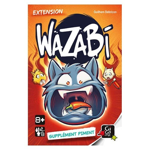 Wazabi extension suplément Piment