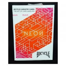 Cartes Bicycle : Neon Orange Cardistry Deck