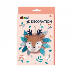 Avenir 3D Décoration - Cerf