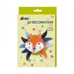Avenir 3D Décoration - Renard
