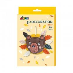 Avenir 3D Décoration - Ours