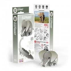 Eugy 3D Modèle - Animal Sauvage Eléphant