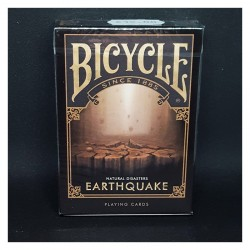 Cartes Bicycle Natural Disasters - Earthquake