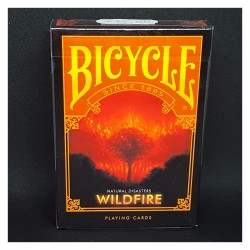 Cartes Bicycle Natural Disasters - Wildfire
