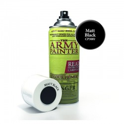 Army Painter : Base Primer - Matt Black