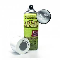 Army Painter : Base Primer - Plate Mail Metal