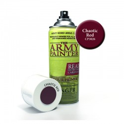Army Painter : Base Primer - Chaotic Red