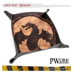 Piste de dés néoprène - Dragon