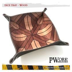 Piste de dés néoprène - Wood