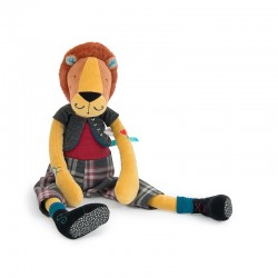 Peluche Lion Roméo (Broc'n Rolls)