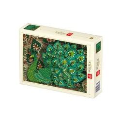 Puzzle D-toys nature Paon 1000p