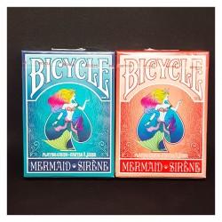Cartes Bicycle Mermaid