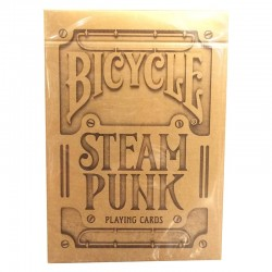 Cartes Bicycle Steampunk Silver/Gold