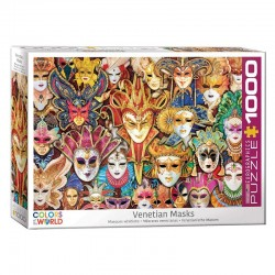 Puzzle Colors of the World - Masques Venitiens