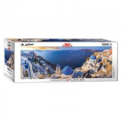 Puzzle Panoramique de Santorin