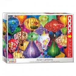 Puzzle Colors of the World - Lanternes Asiatiques