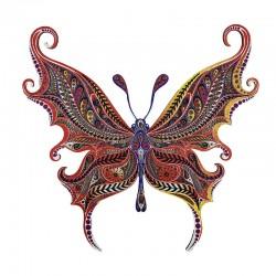 Puzzle Creatif : Le Papillon Illusioniste