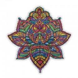 Puzzle Creatif : Le Lotus Florissant