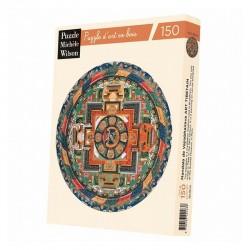 Mandala de Vajrabhairava -Puzzle bois 150p