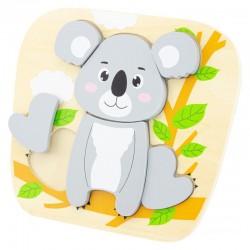 Puzzle Koala (6p)