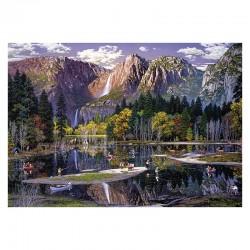Yosemite Fall - MicroPuzzle 40p bois Wentworth
