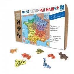 Départements de France -Puzzle bois 100p