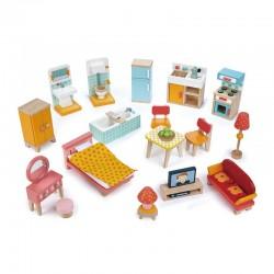 Meubles de poupées : Set Maison de Ville