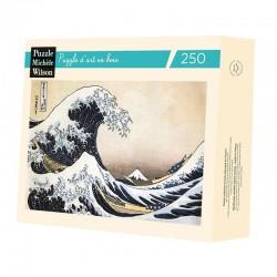 La Vague (Hokusai) -Puzzle bois 250p