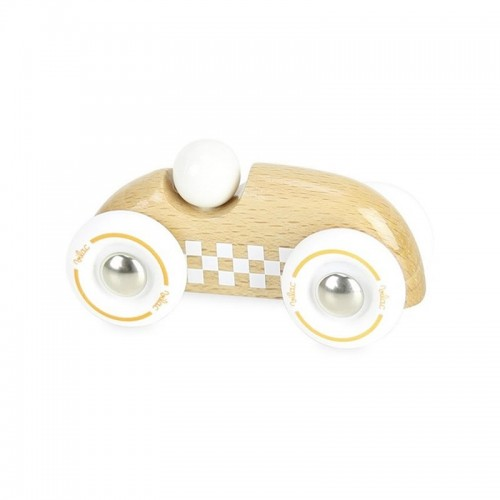 Mini rallye checkers bois naturel