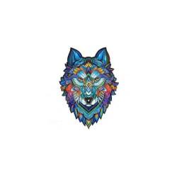 Puzzle bois Majestic Wolf 148p