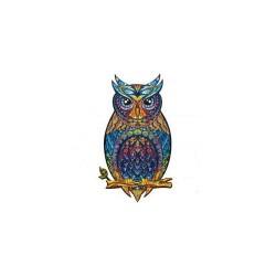 Puzzle bois Charming Owl 195p